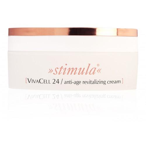 VivaCell 24 Anti- age Revitalizing Cream/ Senėjimą stabdantis gaivinamasis kremas 50 ml