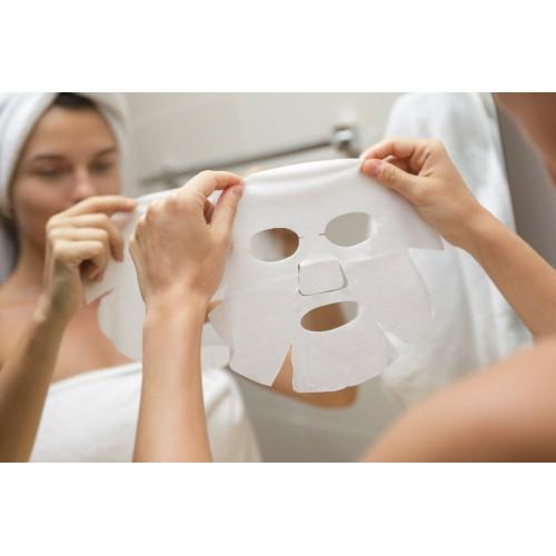 Veido kaukė, drėkinamoji su hialuronu