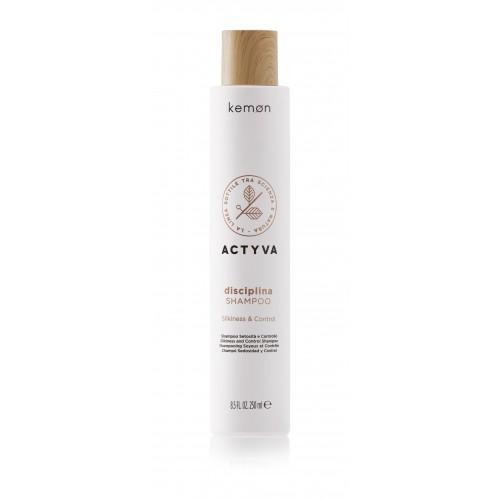 Actyva Disciplinašilko švelnumo suteikiantis šampūnas