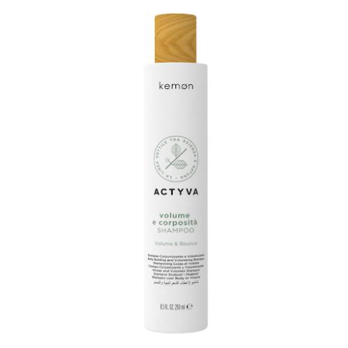 Actyva Volume e Corposità tvirtumo ir apimties suteikiantis plaukų šampūnas