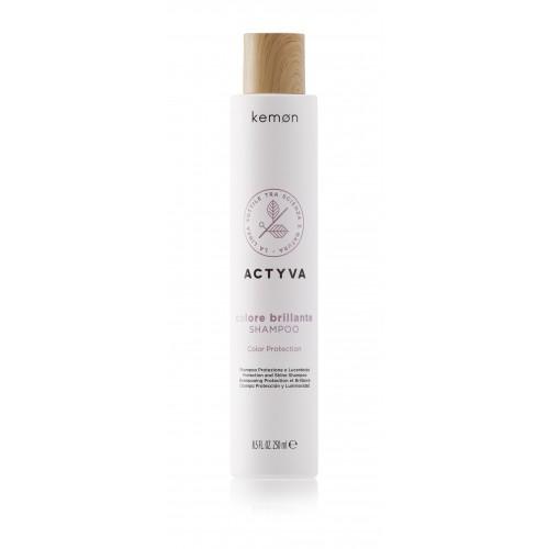 Actyva Colore Brillante apsaugantis ir žvilgesio suteikiantis šampūnas
